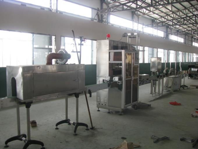 Electric Driven Label Packaging Machine Fully Automatic Operation With Height Adjustments