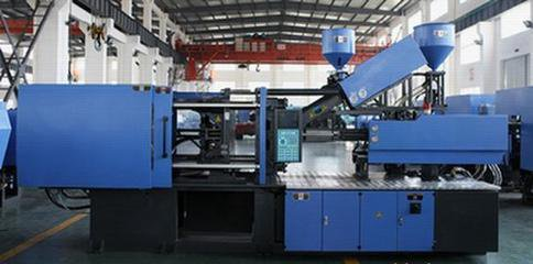 Polymer Injection Molding Machine , Plastic Injection Molding Machine 92 - 120 G/S Rate