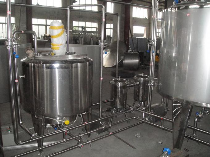 1T - 50T/D Milk Processing Machine , Milk Dairy Plant Machinery High Degree Of Automation