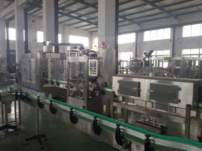 3 Phase 380V 50Hz Water Filling Production Line , Machine For Pure Water Production