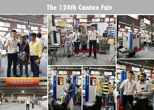Welcome to 124th Canton Fair, we are waiting for you
