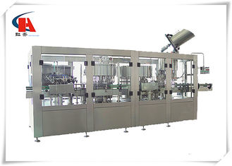 China Automatic Bottle Water Washing Filling Capping Machine , Filling Line Equipment Easy Operation supplier