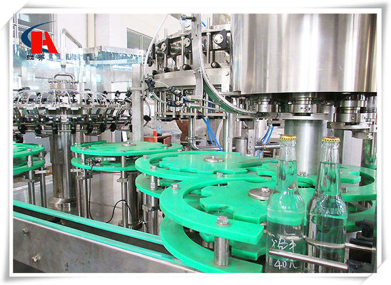China Multifunctional Automatic Liquid Filling Machine 3 In 1 Full Open Protection Structure supplier