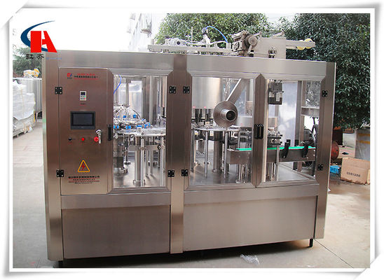 China High Precision Automatic Bottle Washing Filling And Capping Machine 7.5KW Power supplier