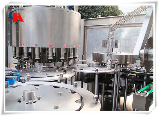 China Liquid Washing Filling Capping Machine , Industrial Bottle Filling Machine 5.6KW Power supplier