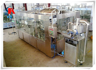 China 3 In 1 PET Bottled Automatic Liquid Filling Machine 0.6MPa Air Consumption supplier