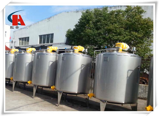 China 400L Stainless Steel Tanks Square High Shear Emulsifying Tank In Production Line supplier