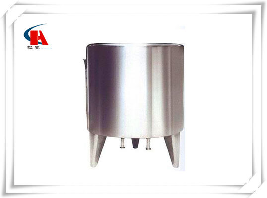 China Mirror Polished Stainless Steel Tanks CIP Cleaning In Water Production Line supplier