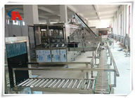 Touch Screen Complete Bottled Water Production Lines 50 - 180 PCS/H With Water Treatment